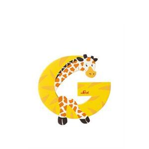 Lettera G Giraffa - 2