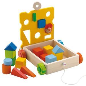 Sevi 81675 - Cubetti Topino in legno - 3