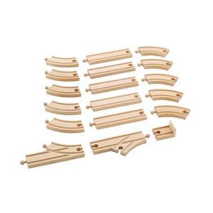 Binari curvi lunghi 4 pz - 6