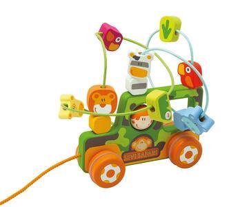 Labirinto con ruote Safari