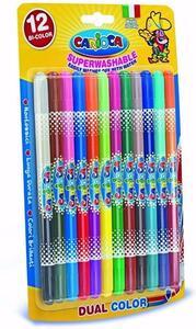 Pastelli Bi-Color Blister 12 pezzi