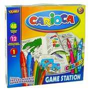 Cartoleria Valigetta Carioca Game Station Carioca