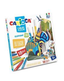 Carioca Create and Color. Elefante 3D
