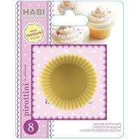 Confezione 8 pirottini pastello