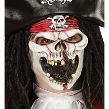 Maschera da Pirata Fantasma Taglia Unica Adulto