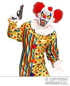 Maschera Killer Clown Halloween Versione 2 - 4