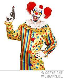 Maschera Killer Clown Halloween Versione 2 - 5