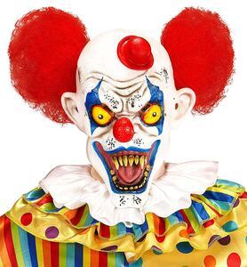 Maschera Killer Clown Halloween Versione 2 - 6