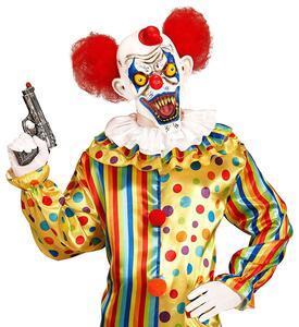 Maschera Killer Clown Halloween Versione 2 - 7