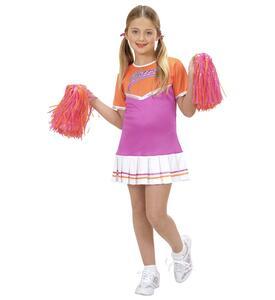 Costume Cheerleader ass. In 2 colori 128cm - 4