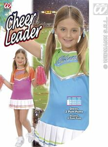 Costume Cheerleader ass. In 2 colori 128cm - 7