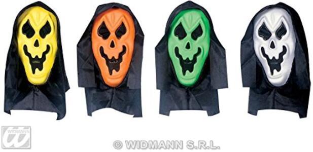 Maschera Fantasma Con Cappuccio E Occhi Invisibili