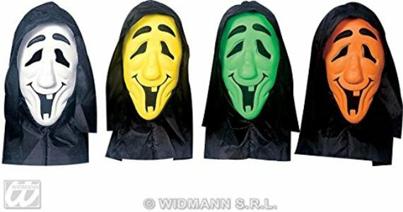 Maschera Fantasma Con Cappuccio E Occhi Invisibili - 2