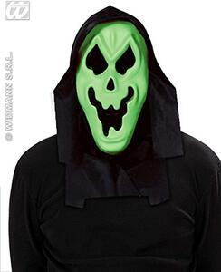 Maschera Fantasma Con Cappuccio E Occhi Invisibili - 3