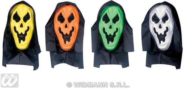 Maschera Fantasma Con Cappuccio E Occhi Invisibili - 4
