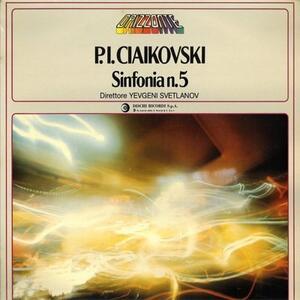Sinfonia n.5 - Vinile LP di Pyotr Il'yich Tchaikovsky,Evgeny Svetlanov