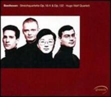 Streichquartette op.18/4 & op.132 - CD Audio di Ludwig van Beethoven