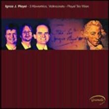 3 Trii con pianoforte - Sonata per violino - CD Audio di Ignace Pleyel