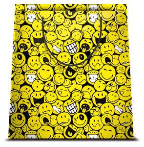 Shopper Fantasia Smiley. Taglia M