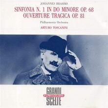 Sinfonia n.1 op.68 in Do - CD Audio di Johannes Brahms
