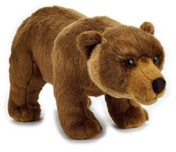 Lelly 770845 Orso Grizzly Basic Ufficiale National Geographic
