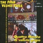 Cover della colonna sonora del film Quattro mosche di velluto grigiov