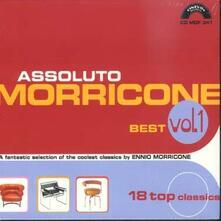 Assoluto Morricone. Best vol.1 (Colonna Sonora) - CD Audio di Ennio Morricone
