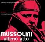 Cover CD Colonna sonora Mussolini ultimo atto