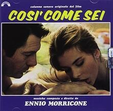 Così come sei - CD Audio di Ennio Morricone