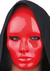 Carnival Toys 87. Maschera Viso Medio Rosso In Plastica - 2