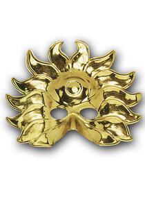 Carnival Toys 114. Maschera Sole Oro In Plastica