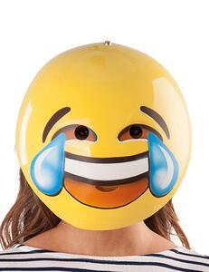 Maschera Emozione Risata In Plastica Con Cerchietto