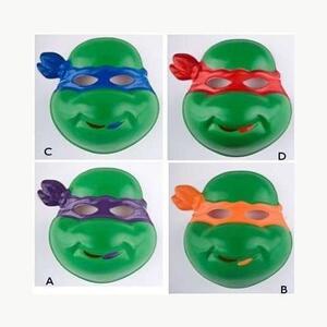 Carnival Toys 261. Maschera Tartaruga Ninja In Plastica Assortimento - 2