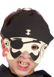 Carnival Toys 548. Maschera Pirata Bambino In Eva