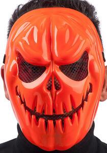 Carnival Toys 886. Maschera Zucca Horror In Plastica Rigida