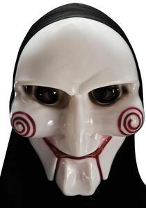 Carnival Toys 947. Maschera Fantasma In Plastica Rigida Con Cappuccio - 2