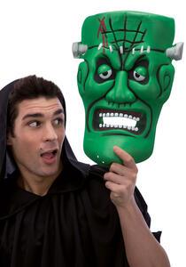 Maschera Gigante Frankenstein In Eva Altezza 40 Cm