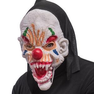 Carnival Toys 1372: Maschera Clown In Fingomma C/Cappuccio E Cavallotto