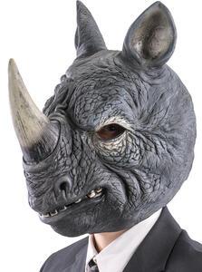 Maschera Rinoceronte In Lattice