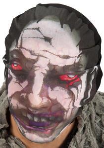Maschera Intera Zombie In Tessuto Elasticizzato