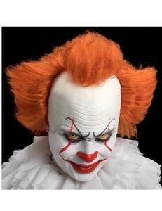 Carnival Toys 2277: Parrucca Clown Cattivo C/Calotta In Lattice In Busta C/Gancio