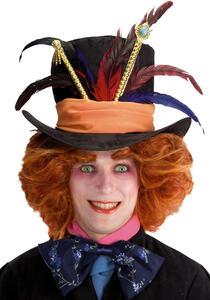 Parrucca Cappellaio con Sopracciglia Cappello Escl.