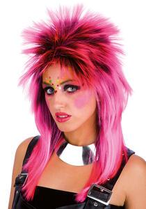 Carnival Toys 2445. Parrucca Punk Rosa Pvc