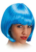 Idee regalo Carnival Toys 2505. Parrucca Pin Up Azzurra Carnival Toys