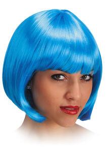 Parrucca Pin Up Azzurra