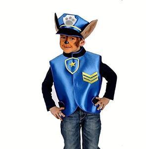 Carnival Toys 3380. Set Cucciolo Poliziotto Casacca E Cappello
