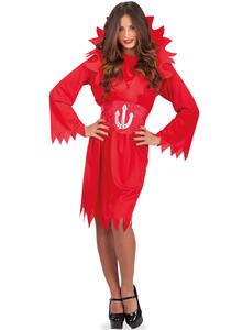 Costume Diavolessa T.U. S-M-L