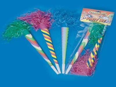 Carnival Toys 4402: 36 Trombe L.Cm.35 Ca.