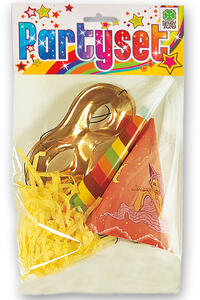 Carnival Toys 4634. Party Set 1 Cappellino 1 Tromba 1 Farfalla