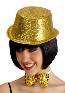 Carnival Toys 5506. Cilindro C/ Glitter Oro In Plastica H.Cm.10 Ca.
